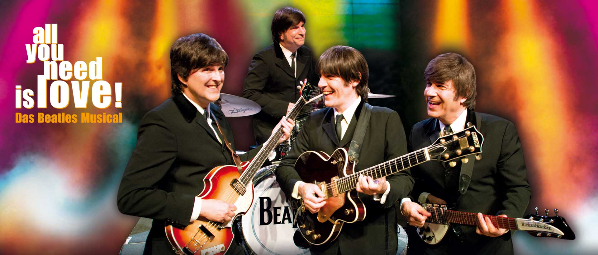 All you need is love! Das Beatles Musical - 09.07. - 15.08.2021