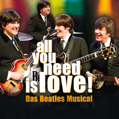 all you need is love! - Das Beatles Musical 04.06. - 25.06.2021